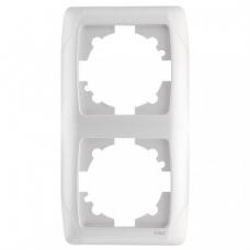 Рамка 2-ая (85х155 мм) вертикальная Viko Carmen белый 90571002