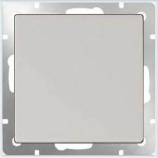 Выключатель одноклавишный проходной (белый) Werkel WL01-SW-1G-2W