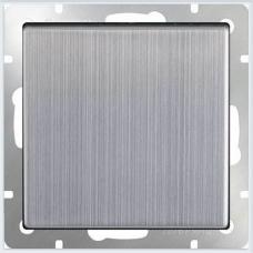 Перекрестный переключатель одноклавишный (глянцевый никель) Werkel WL02-SW-1G-C