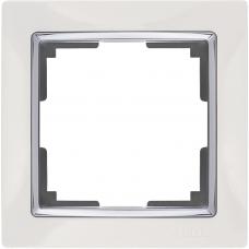 Рамка на 1 пост (белый) Werkel WL03-Frame-01-white