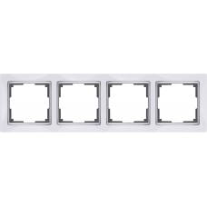 Рамка на 4 поста (белый) Werkel WL03-Frame-04-white
