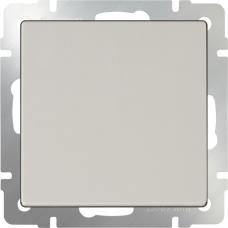 Выключатель одноклавишный проходной (слоновая кость) Werkel WL03-SW-1G-2W-ivory