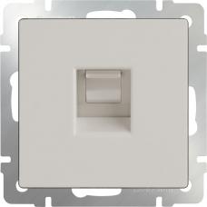 Розетка Ethernet RJ-45 (слоновая кость) Werkel WL03-RJ-45-ivory