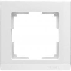 Рамка на 1 пост (белый) Werkel WL04-Frame-01-white