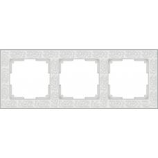 Рамка на 3 поста (белый) Werkel WL05-Frame-03-white