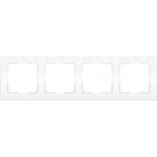 Рамка на 4 поста (белый) Werkel WL05-Frame-04-white