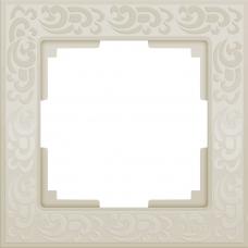 Рамка на 1 пост (слоновая кость) Werkel WL05-Frame-01-ivory