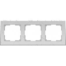 Рамка на 3 поста (серебряный) Werkel WL06-Frame-03