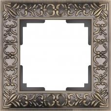 Рамка на 1 пост (бронза) Werkel WL07-Frame-01