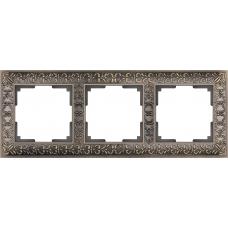 Рамка на 3 поста (бронза) Werkel WL07-Frame-03