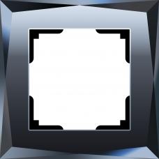 Рамка на 1 пост (черный) Werkel WL08-Frame-01