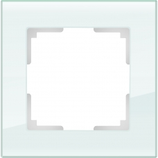 Рамка на 1 пост (натуральное стекло) Werkel WL01-Frame-01