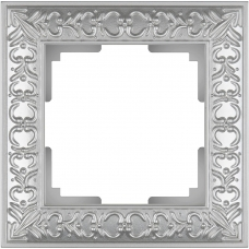 Рамка на 1 пост (жемчужный) Werkel WL07-Frame-01