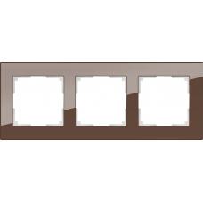 Рамка на 3 поста (мокко) Werkel WL01-Frame-03