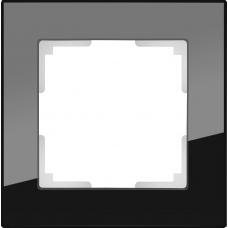 Рамка на 1 пост (черный) Werkel WL01-Frame-01
