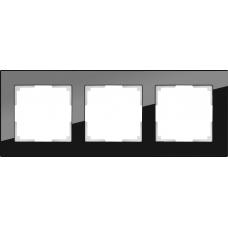 Рамка на 3 поста (черный) Werkel WL01-Frame-03