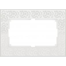 Рамка для двойной розетки (белый) Werkel WL05-Frame-01-DBL-white
