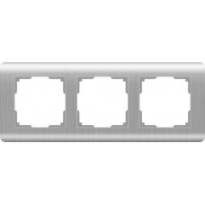 Рамка на 3 поста (серебряный) Werkel WL12-Frame-03